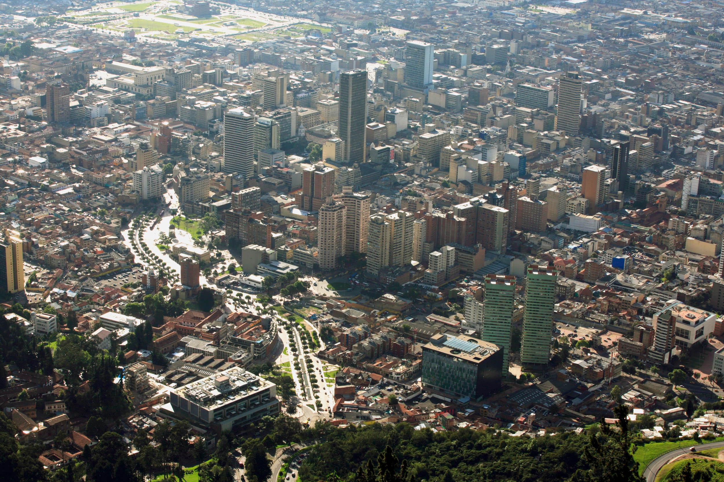 Bogotá aérea